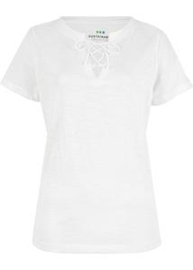 Nachhaltiges Schnür-Shirt aus Bio-Baumwolle