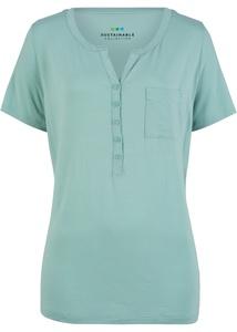 Nachhaltige Shirtbluse aus TENCEL™ Lyocell