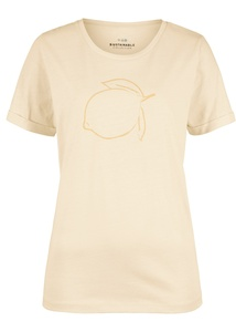 Mit Naturfarbstoffen gefärbtes T-Shirt