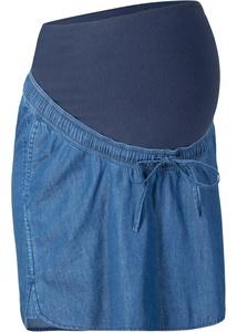 Jeans-Umstandsrock