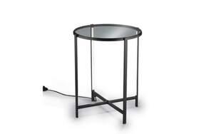 Reality Leuchten - Tisch mit LED-Beleuchtung in schwarz