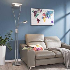 LeuchtenDirekt LED-Deckenfluter   Helia