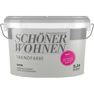 Schöner Wohnen Trendfarbe Zen Matt 2,5 l