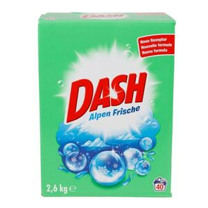 DASH Alpenfrische Waschpulver 2,6kg