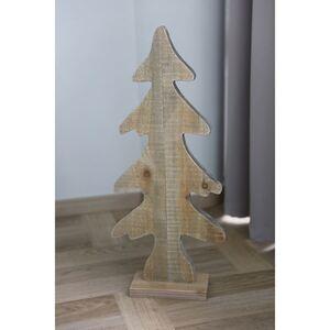 Holz-Weihnachtsbaum Klein 28,5x65x10cm