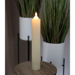LED-Altarkerze 5x32,5cm Elfenbein