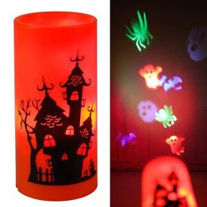 LED-Kerze Decken-Projektor Halloween