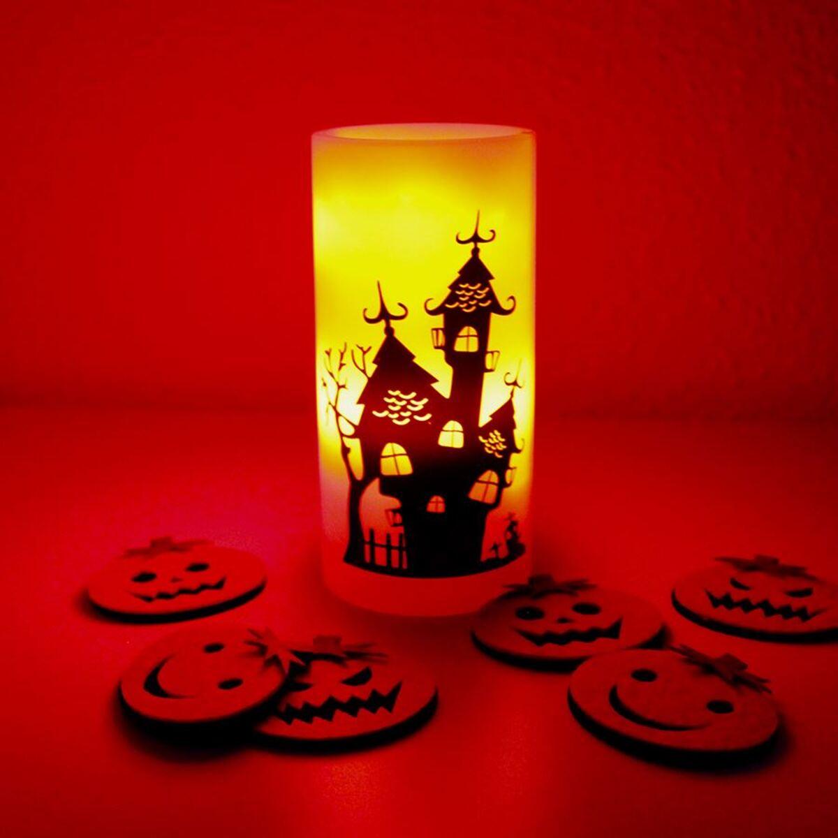 Bild 2 von LED-Kerze Decken-Projektor Halloween