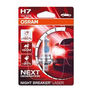 Osram              Autolampe GLL H11 Nightbreakerunlimited, 1Er