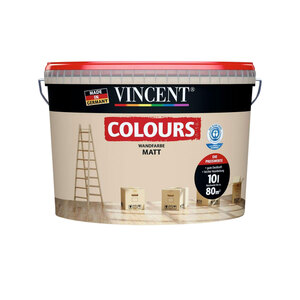 """Vincent              Wand-⁄Deckencolor """"Sandy"""" 10 L"""