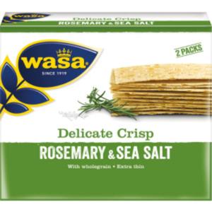 Wasa Delicate Crisp Rosmarin & Meersalz