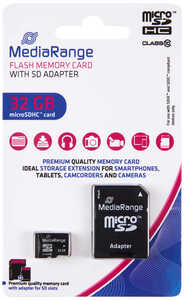 MEDIARANGE  Speicherkarte microSDHC »MR959«