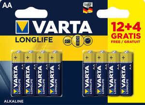 VARTA  Alkaline-Batterien »Longlife« AA oder AAA
