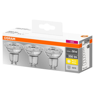 Osram LED Leuchtmittel Reflektor klar, GU10
