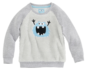 impidimpi  Kleinkinder-Teddyfleece-Pullover