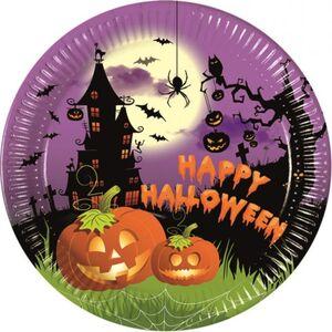 8 Teller - Happy Halloween - Ø = 23 cm