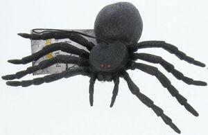 Spinne - aus Kunststoff - 16 cm