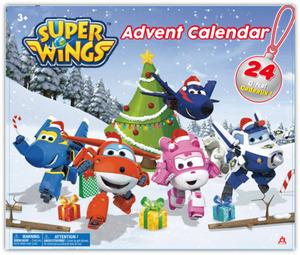 Super Wings - Adventskalender - mit 24 Spielfiguren