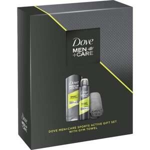 Dove Men+Care Geschenkset für die tägliche Pflege mit Handtuch