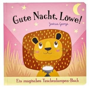 IDEENWELT Taschenlampenbuch ´´Gute Nacht, Löwe!´´