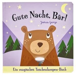 IDEENWELT Taschenlampenbuch ´´Gute Nacht, Bär!´´
