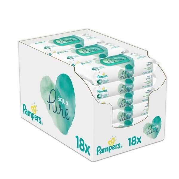 Pampers Feuchttücher Aqua Pure