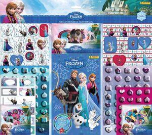 Die Eiskönigin - 330 Sticker & Album