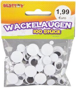 Wackelaugen - 100 Stück