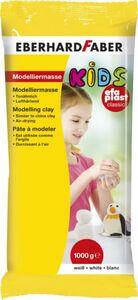 Modelliermasse Kids - EFA Plast Classic - weiß - ca. 1 kg