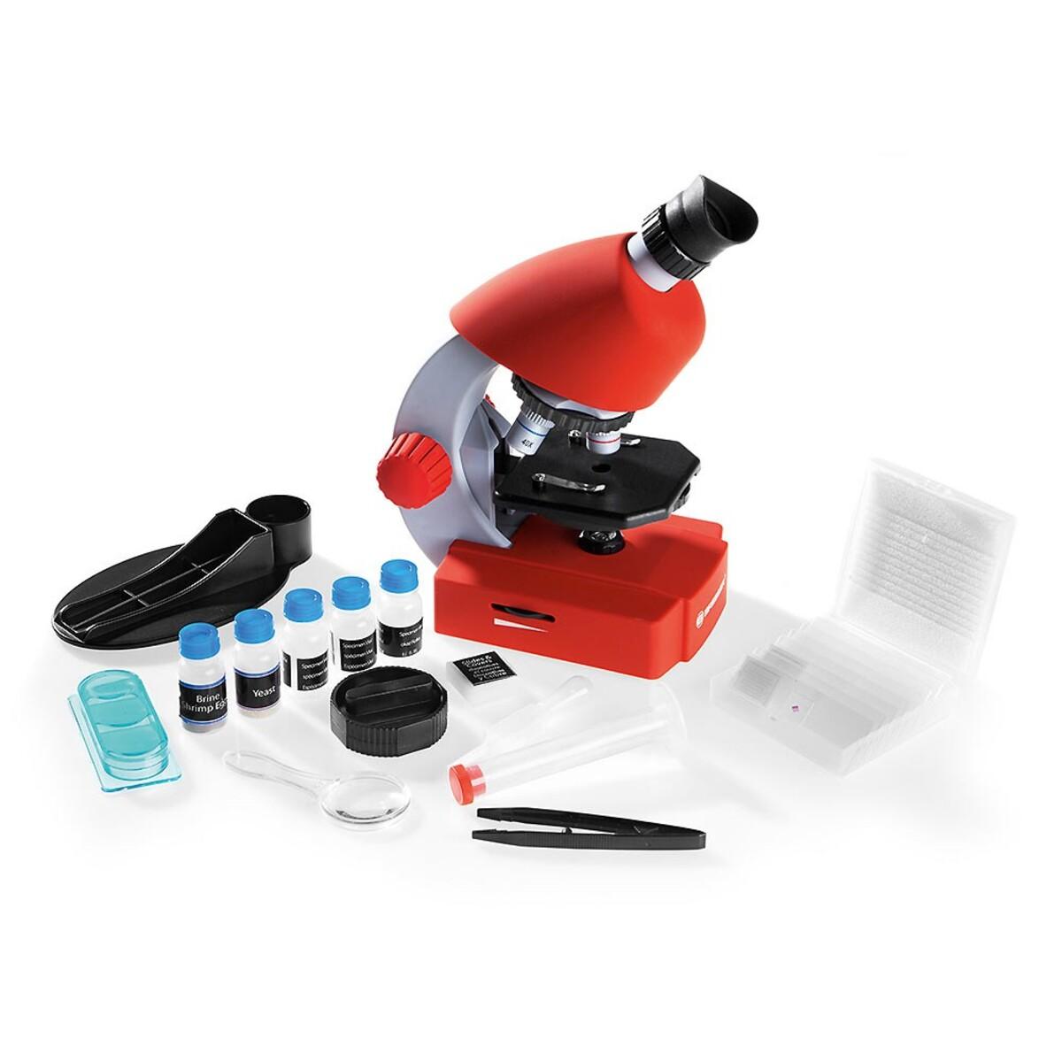 Bild 1 von Bresser Kindermikroskop rot