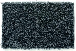 Sensino Luxus Chenille-Badteppich Zottle Shine Gala ca. 50 x 80 cm, Smoked Pearl