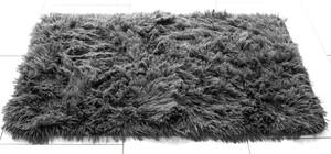 Sensino Badematte Zottel ca. 50 x 80 cm, Anthrazit