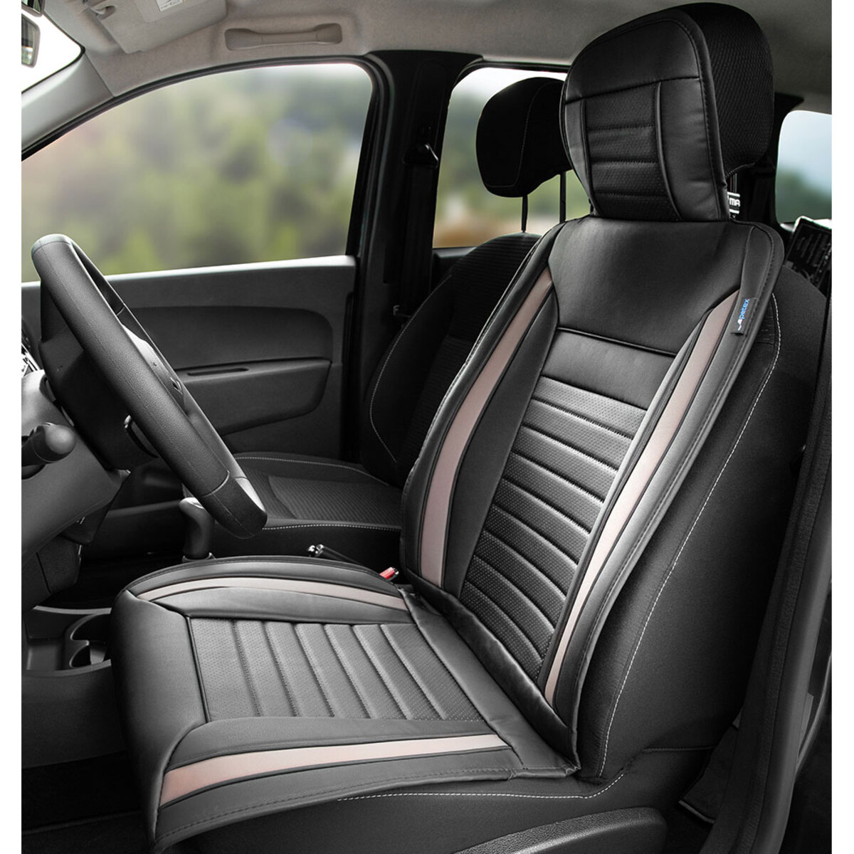 Bild 2 von Diamond Car Premium-Autositzauflage, Grau