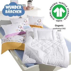 Baby-Biber-Bettwäsche 100 % Baumwolle, 100 x 135/40 x 60 cm, Baby-Spannbetttuch versch. Farben und Qualitäten 70 x 140 cm 5,99 €, Baby-Flachkissen versch. Farben, 40 x 60 cm 5,99 €, Baby-Microf