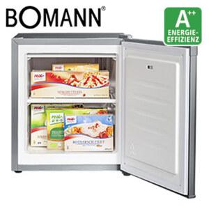 Gefrierbox GB 388 A++ · 30 Liter Nutzinhalt · inkl. Eiswürfelschale · Maße: H 51 x B 44 x T 47 cm · Energie-Effizienz A++ (Spektrum: A+++ bis D)