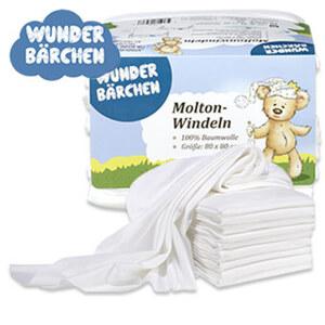Mullwindeln oder Moltontücher 100% Baumwolle, Größe: ca. 80 x 80 c, extra soft, hygienisch und hautschonend, vielseitig verwendbar, waschbar bei ca. 95°