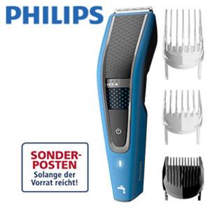 Haarschneider HC5612/15 Series 5000 • Akku-/Netzgerät • 28 Längeneinstellungen von 0,5 bis 28 mm • Trim-n-Flow Pro-Technologie für kontinuierliches Schneiden • 3 Kammaufsätze