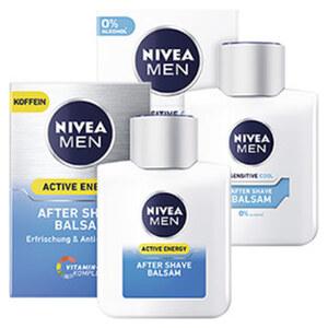 Nivea Men After Shave Sensitive Cool oder Active Energy jede 100-ml-Packung