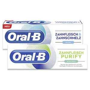 Oral-B Zahncreme versch. Sorten, jede 75-ml-Packung