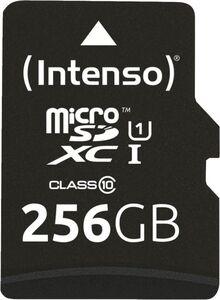 Intenso Micro SDXC Karte 256GB UHS-I Premium mit Adapter