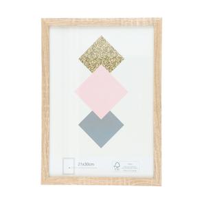 Bilderrahmen MDF natur FSC® 21 x 30 cm