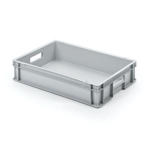 Alutec Kunststoffbehälter geschlossen 60 x 12 x 40 cm grau