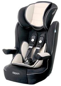 Osann Kindersitz Comet Night inkl. Schutzunterlage - 9 bis 36 kg (8 Monaten bis 12 Jahren) - Befestigungsart 3-Punkt-Gurt - schwarz , beige