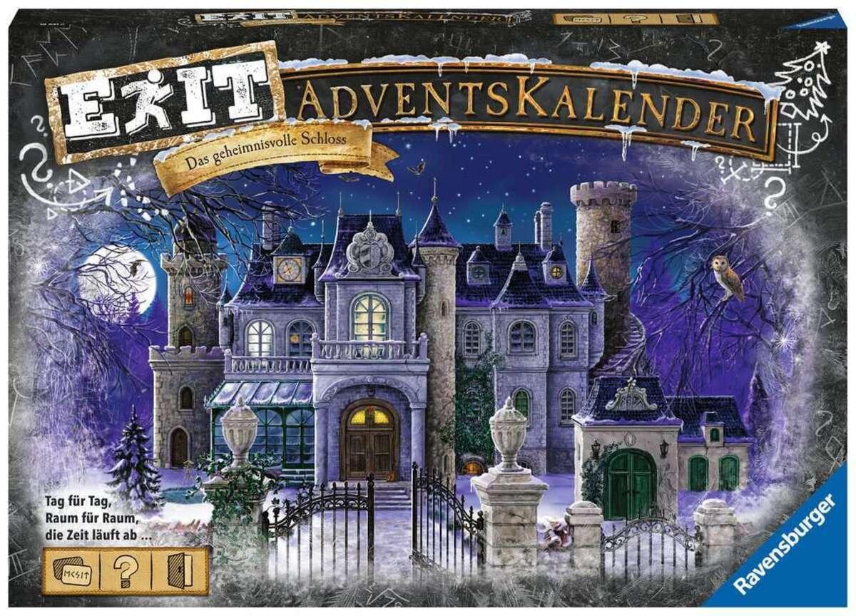 Bild 1 von Ravensburger EXIT Adventskalender - Das geheimnisvolle Schloss 18941