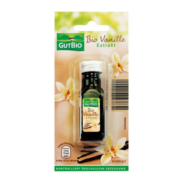 GUT BIO     Bio-Vanille Extrakt