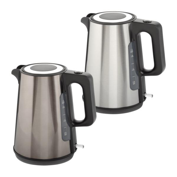 QUIGG     Edelstahl-Wasserkocher