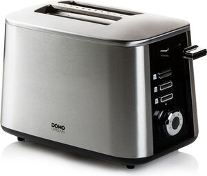 Domo DO972T Toaster Edelstahl Turbo