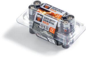 starQ Super Energie Alkaline Batterie, Micro AAA, 12er Box