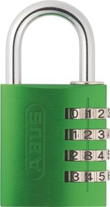 ABUS Zahlenschloss - grün