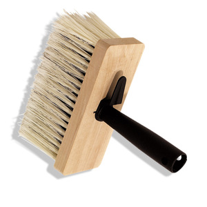 Deckenbürste - Holz - Naturborsten - 17 cm